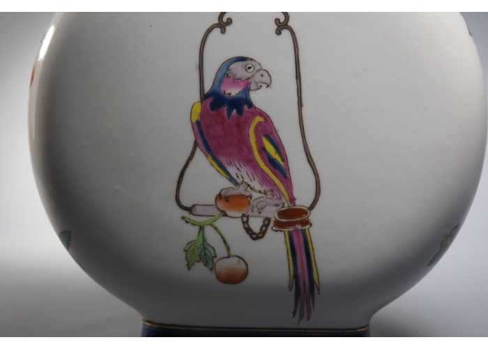 "Vase ""Parrot East India Company"""